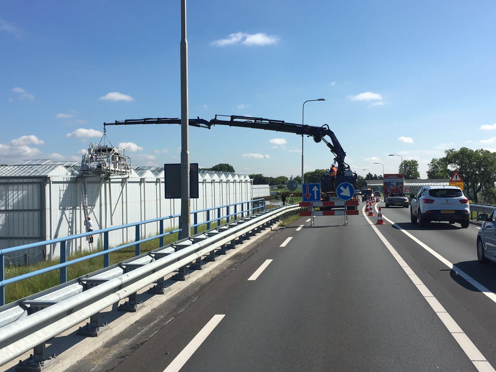 Verkeersmaatregelen | Dekreiniger plaatsen N223